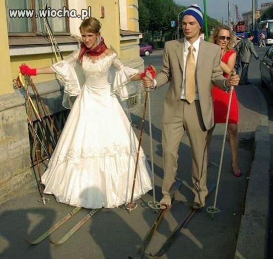 Na ślubnym stoku