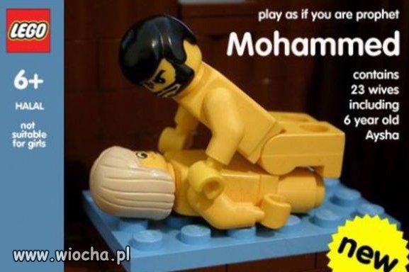 Najnowszy zestaw Lego.