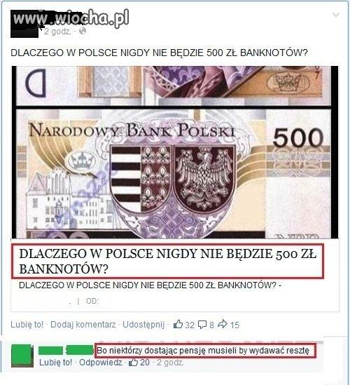 Banknot 500zl?
