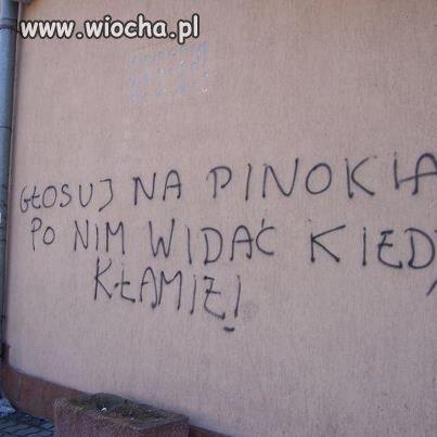 Pinokio na prezydenta!