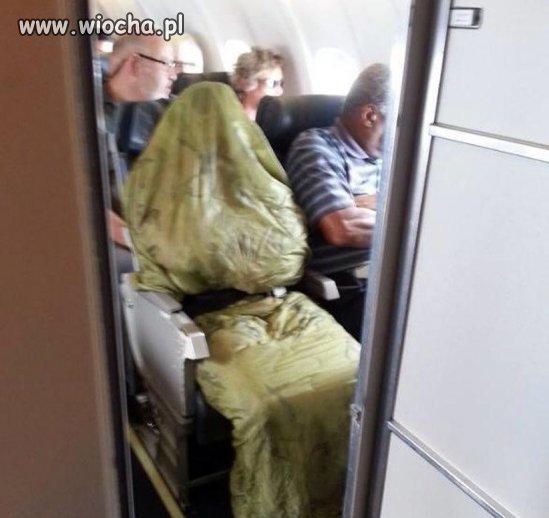 Ebola w samolocie