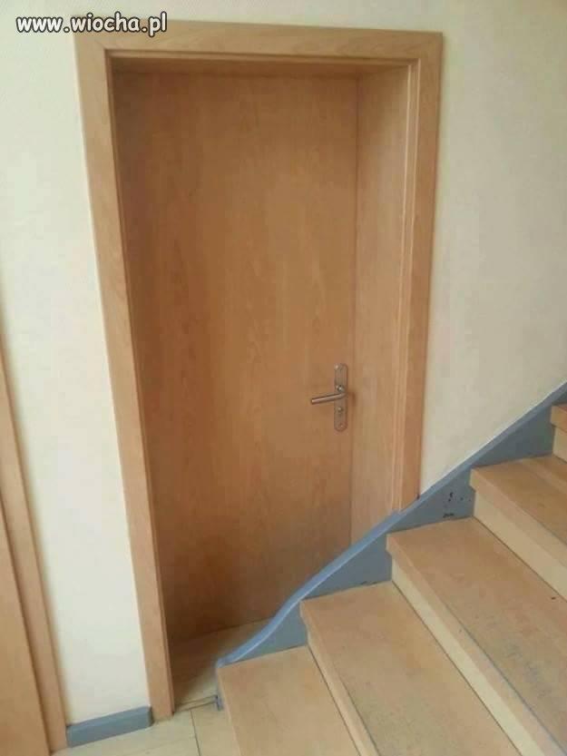 Nie ma to jak drzwi w idealnym miejscu