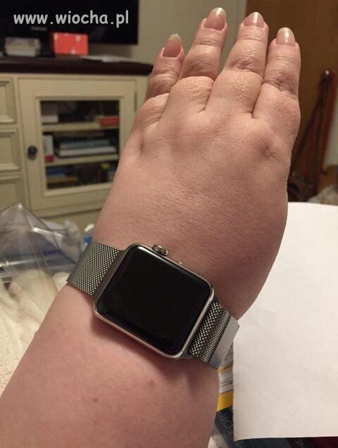 Piękny zegareczek maleńka...