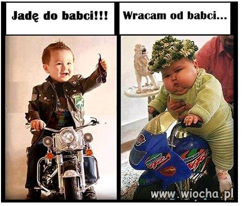 Jadę do babci !!
