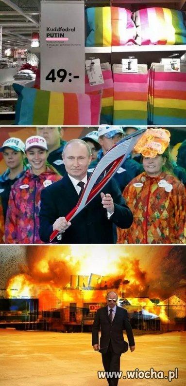 Tęcza i Putin