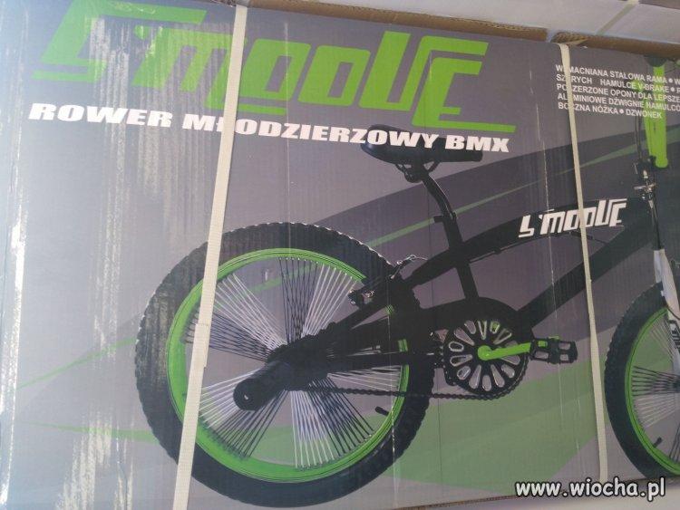 """Rower """"młodzierzowy"""" w Biedronce"""