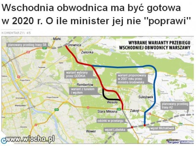 "Minister ""środowiska"" proponuje"