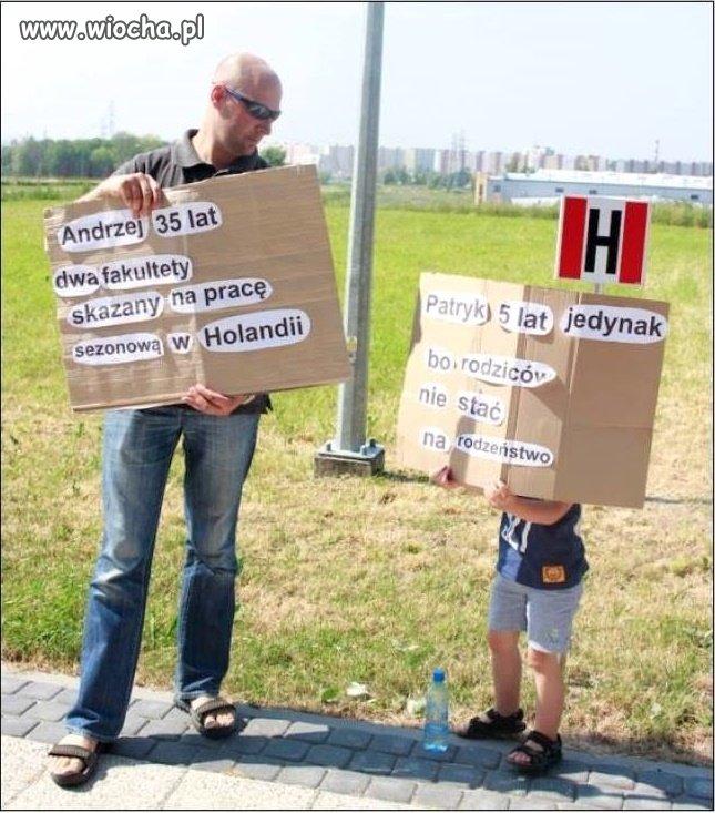 Polacy  za granicą