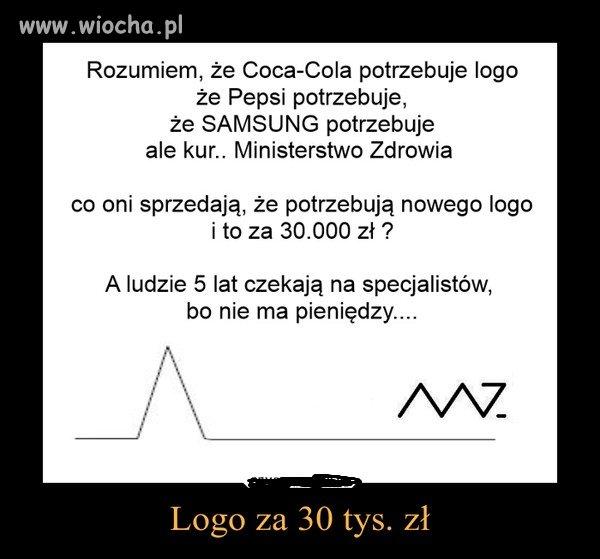Logo za 30 tys zł