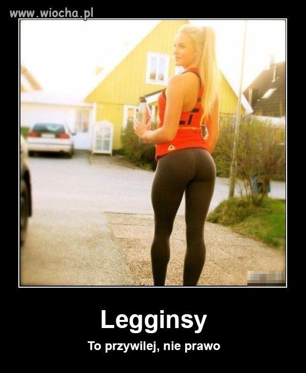 Legginsy...