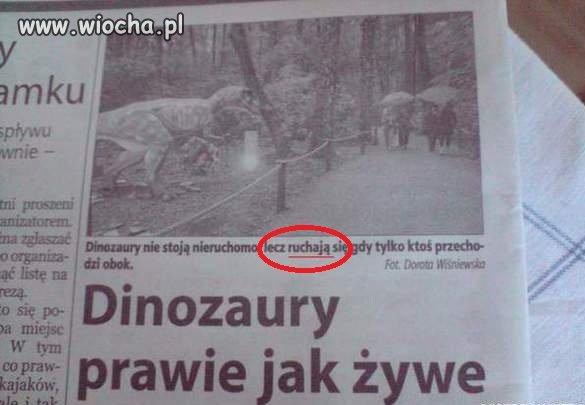 Ruchliwe dinozaury