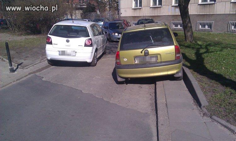 By�a ju� mowa o mistrzach parkowania?