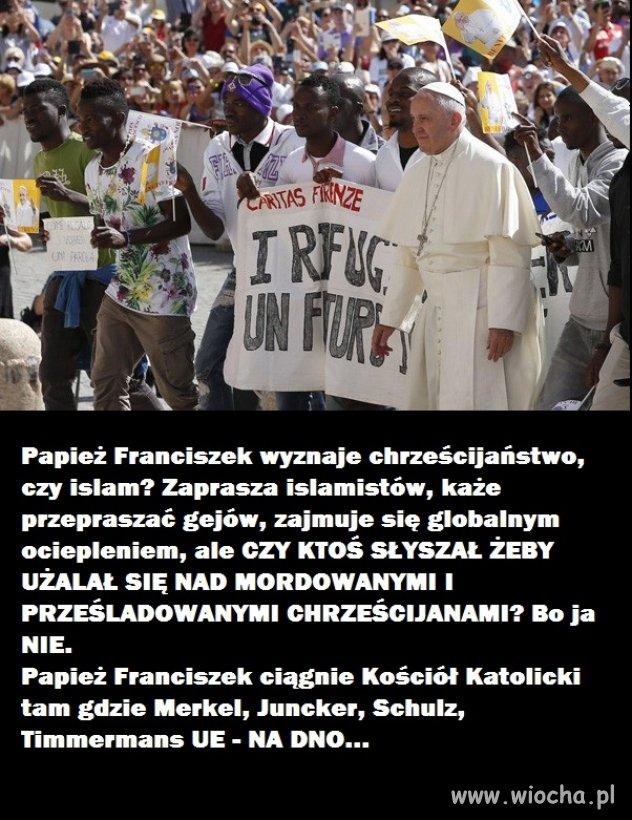 Czy Papież powinien bardziej troszczyć się o