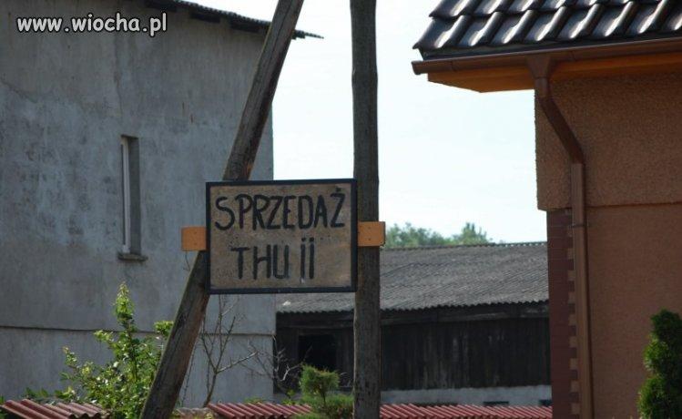 """Sprzedaż """"Thu ii"""", czyli mankamenty językowe na wsi."""