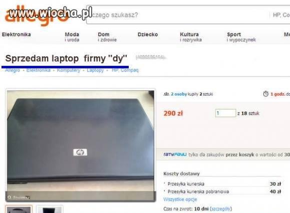 Laptop firmy dy