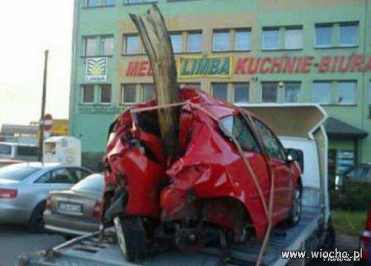Kolejny kierowca padł ofiarą