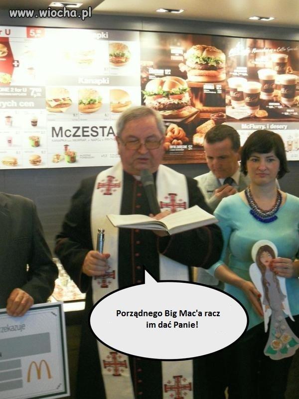 Otwarcie McDonald's w Żywcu..