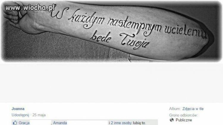 Tatuaż z przekazem