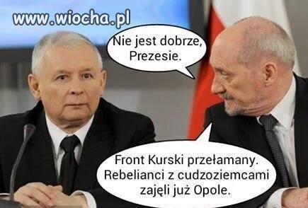 Ani jeden Polak nie gwizdał w Opolu!!
