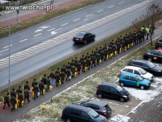 Wojska Nato po manewrach w Netto