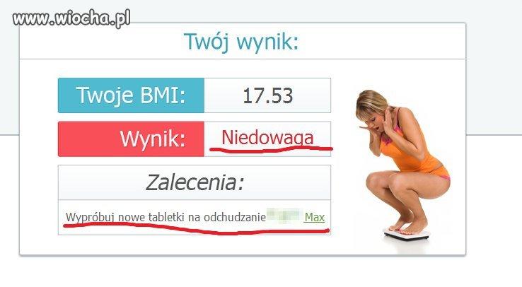 BMI...Zalecenie...