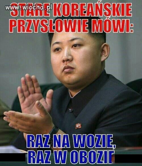 Z cyklu północnokoreańskie przysłowia