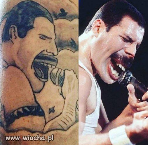 Mistrz tatuażu.