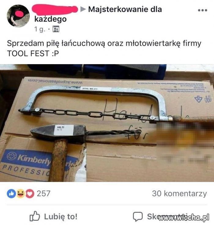 Niezbędne narzędzia