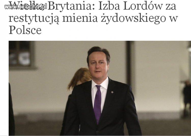 UK będzie naciskać na Polskę