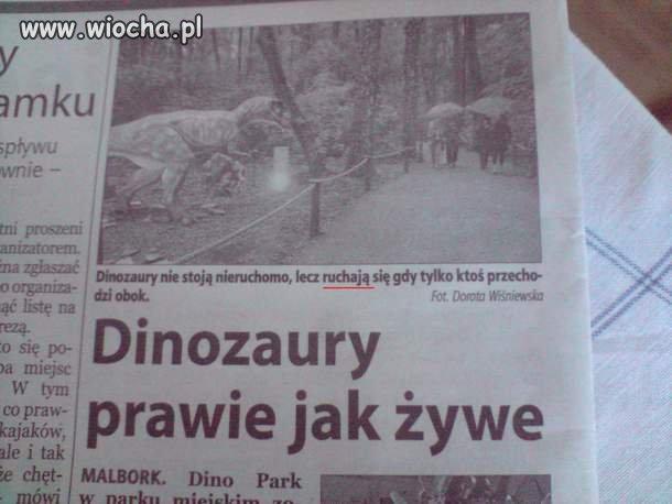 Dinozaury prawie jak żywe