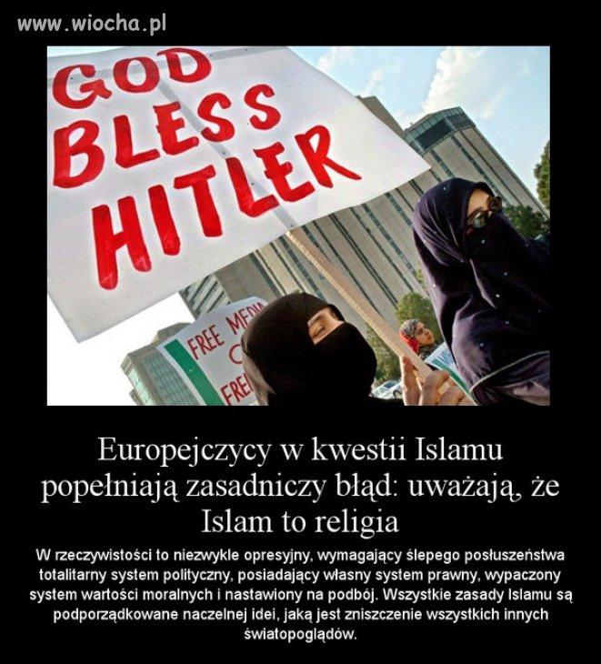 Islam to nie religia