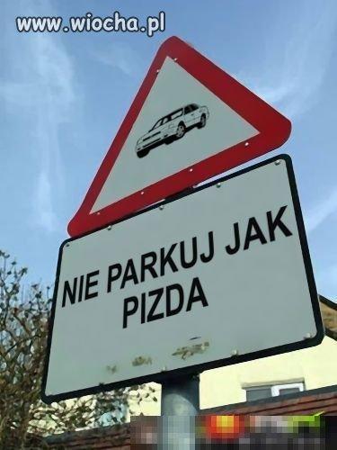 Nie parkuj jak pizda