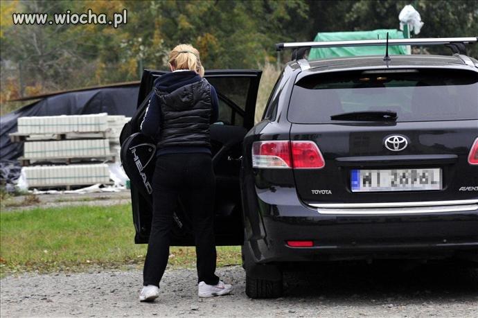 Żona Tuska jeździ służbową limuzyną męża na tenisa!