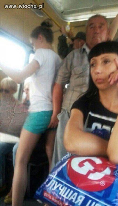 Znany autobusowy macaczoocieracz