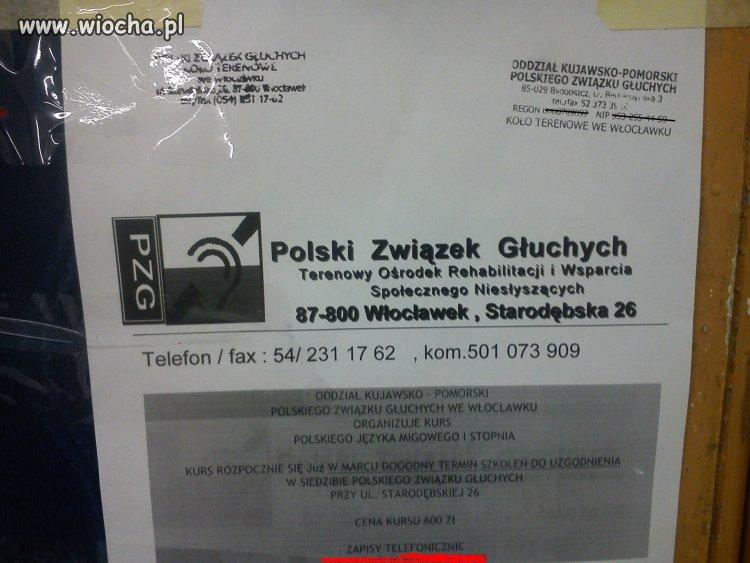 Polski Związek Głuchych zapisy telefoniczne