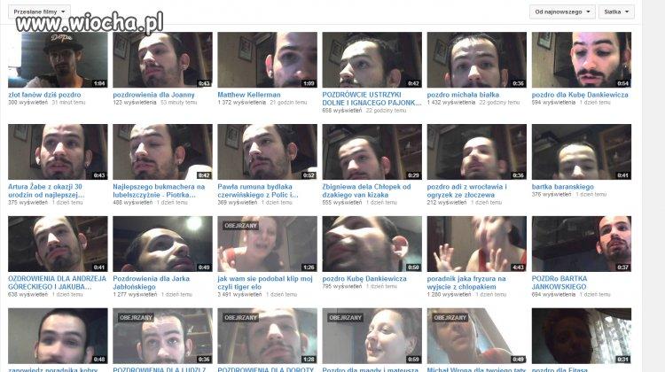 Bonzo dodaje beznadziejne filmiki co kilka minut