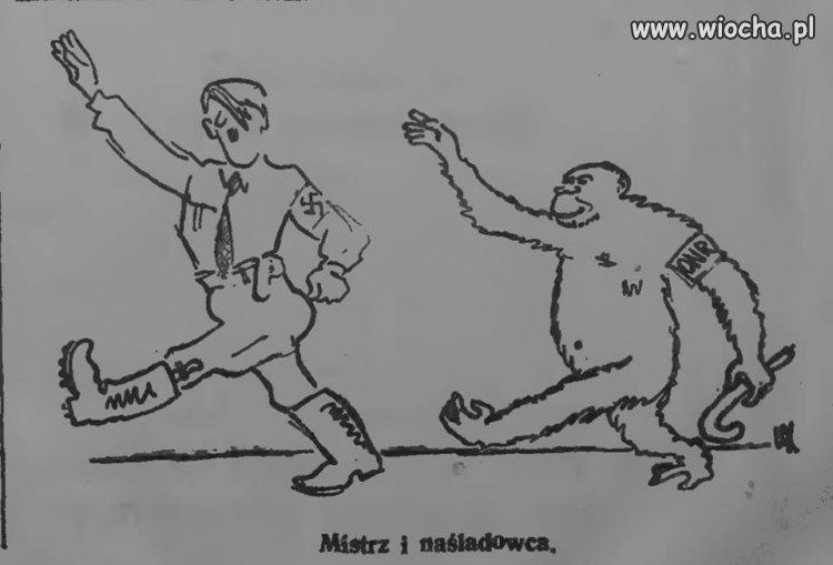 """Źródło: """"Tydzień Robotnika"""", 9 października 1938 roku."""