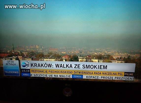 Kraków. Walka ze Smokiem