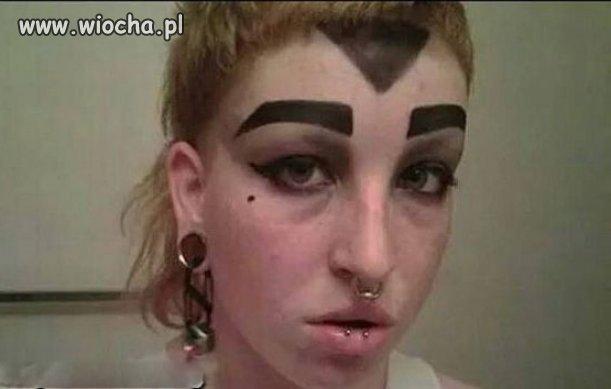 Stylowy makijaż