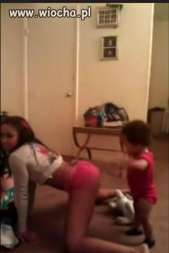 Taniec przed dzieckiem