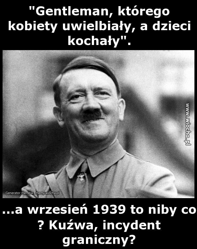 Kurna urodziny hitlera w polsce...