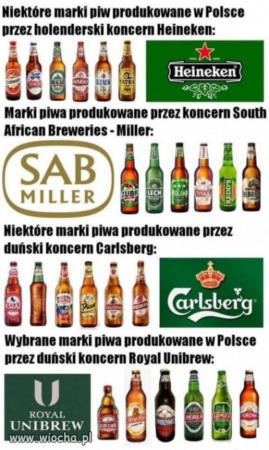 Tradycyjne polskie piwa...