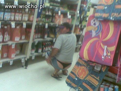 Wiocha w sklepie