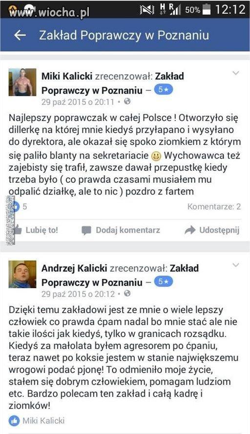 Byli podopieczni o zakładzie karnym w Poznaniu