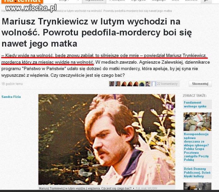 """Wiocha dla polskiego """"Wymiaru Sprawiedliwości""""."""