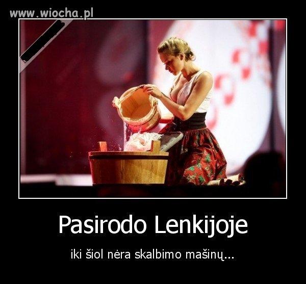 Tak dla odmiany - na Litwie śmieją się z nas