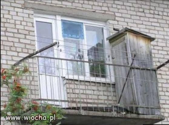 Z cyklu: rosyjskie balkony