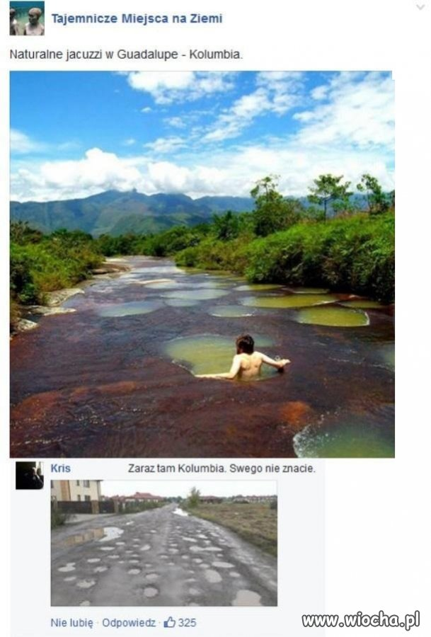 W Kolumbii wcale nie mają lepiej