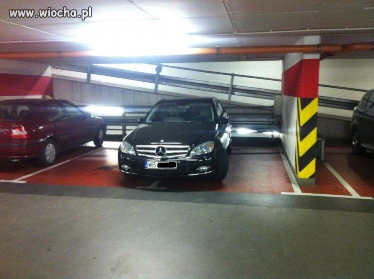 Takie parkowanie
