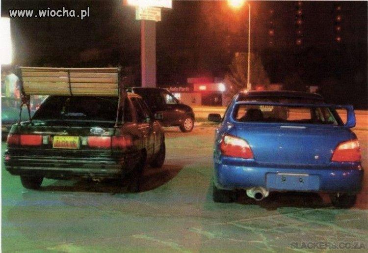 Prawie jak Subaru...Prawie robi wielka różnice